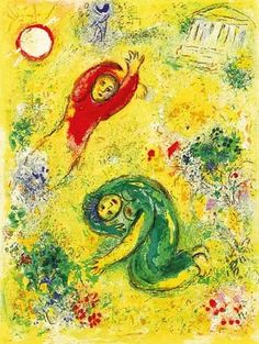 Art Collector: Chagall's Daphnis & Chloé at the AGA: Making the E...