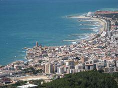 Barcelona Vista de Sitges