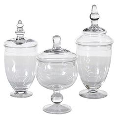 Apothecary Jar Set - Rental