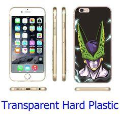 DBZ Black Phone Case for iPhone 7 6 6S Plus 4 4S 5C 5 SE 5S Cover