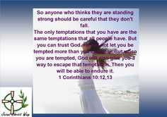 1 Corinthians 10:12,13