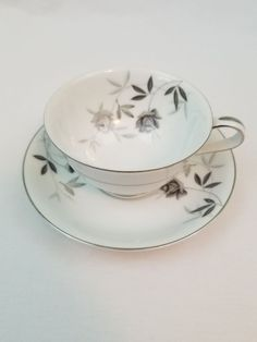 Noritake China Rosamor 5851 Saucer Replacement Discontinued for sale online Serveware, Tableware, Finders Keepers, Noritake, Fine China, Tea Cups, Antiques, Ebay, Vintage
