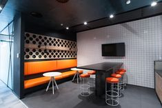 loft interior design Align Technology, Loft Interior Design, Loft Interiors, Conference Room, Table, Furniture, Home Decor, Decoration Home, Room Decor