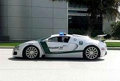 BUGATTI POLICE CAR