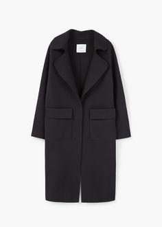 Pockets wool coat