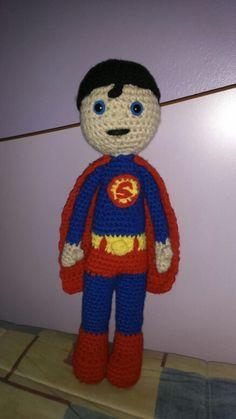 Superman amigurumi