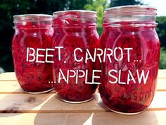 Beet, Carrot, and Apple Slaw- Putting Up with Erin