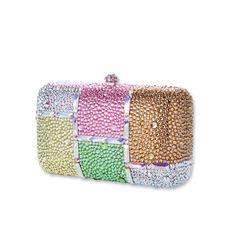 Paleta Crystal Clutch Bag  #crystal, #clutchbag, #colorful  http://www.playbling.com/en/crystal-clutch-bag/paleta-crystal-clutch-bag-3.html