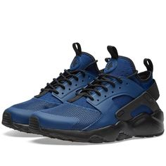 low priced 43181 27efd Nike Air Huarache Run Ultra Coastal Blue Dark Obsidian Trainer Nike Air  Huarache Femme, Huarache