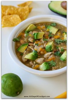 31 Easy Crock Pot Chili Recipes like this Green Chili from 365 Days of Slow Cooking | Momtastic