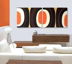 Mid+Century+Modern+Art+Painting+Eames+Era+by+Jetsetretrodesign,+$325.00