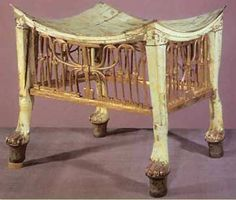 The most common feature in Egyptian homes was the stool, which was easily moved from place to place