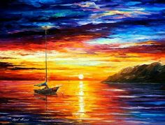 Sea Wall Art – Resting By The Hill — Palette Knife Seascape Oil Painting On Canvas By Leonid Afremov. Size X Inches cm x 75 cm) Sea Wall Art – Resting By The Hill — Palette Knife Seascape Oil Painting On… Modern Art Deco, Modern Wall, Fine Art, Oil Painting On Canvas, Painting Art, Canvas Canvas, Art Paintings, Painting Classes, Knife Painting