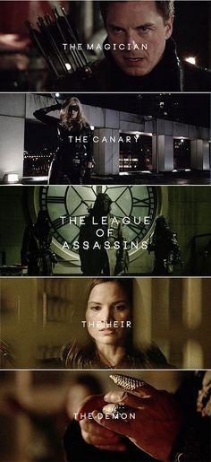 League of Assassins #Arrow