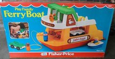 Fisher Price Toys, Vintage Fisher Price, 90s Childhood, Childhood Memories, Sweet Memories, Retro Toys, Vintage Toys, Ferry Boat, 80 Cartoons