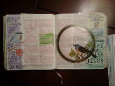 Bible Journal, Faith Art, Faith Based Pages