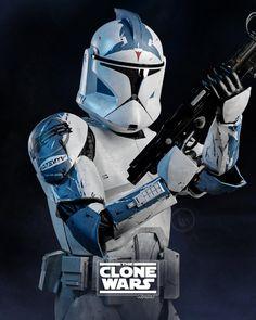 Star Wars Clone Wars, Star Wars Art, Star Trek, Images Star Wars, Star Wars Pictures, Guerra Dos Clones, Republic Commando, 501st Legion, Star Wars Wallpaper