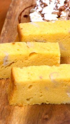 Kue Bolu tape kelapa muda adalah kue yang memiliki tekstur lembut dengan cita rasa tape yang khas ditambah daging kelapa muda keruk didalamnya, akan menimbulkan sensasi berbeda saat menikmati bolu manis nan nikmat ini. Proses pembuatan kue pun sangat mirip dengan pembuatan Chiffon Cake.