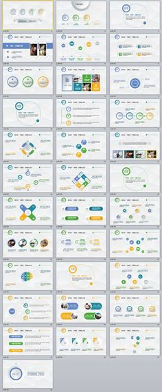 30+ white Annual Report PowerPoint Templates