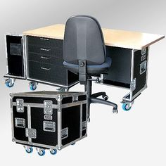 Why the Home Office Furniture You Use Matters Folding Furniture, Home Office Furniture, Cool Furniture, Furniture Design, Rococo Furniture, Office Interior Design, Office Interiors, Flight Case, Palette Projects