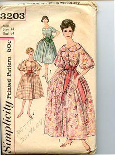 Vintage 1950s Dress Simplicity 3203 Pattern by VioletCrownEmporium, $12.00