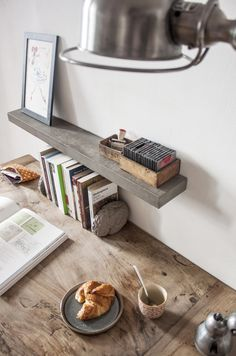 Our Large Concrete Sliced Shelf by Lyon Béton is a one-of-a-kind home accessory which forms part of the elegant concrete collection by the French manufacturer. This concrete shelf will add a modern and clean touch to any room. Concrete Interiors, Concrete Furniture, Garden Furniture, Furniture Design, Concrete Basin, Concrete Wood, Small Shelves, Floating Shelves, Lyon