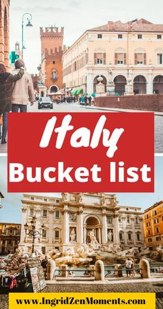 Plan for your perfect Italy vacation with this ultimate list of Italy travel destinations anyone should see at least once in a lifetime. Where to go in Italy, Italy travel tips, what to do in Italy. Paris Travel, Travel Usa, Travel Europe, Italy Destinations, Italy Travel Tips, Visit Italy, Italy Italy, Travel Inspiration, Travel Advice