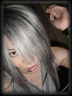long visual kei hair
