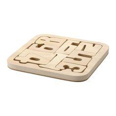 PYSSLA Puzzle IKEA Puzzle legen entwickelt Feinmotorik und logisches Denken. Gleichzeitig lernen Kinder mehr über Formen- und Größenverhältnisse.