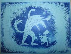 linocut christmas cards - Google Search