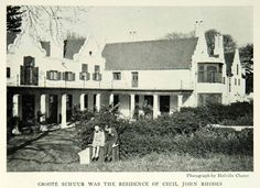 1931 Print Groote Schuur Cape Town South Africa Cecil John Rhodes House NGM7 John Rhodes, Cape Dutch, East India Company, Cape Town South Africa, Water Damage, Old Photos, Holland, Beautiful Places, Wallpapers