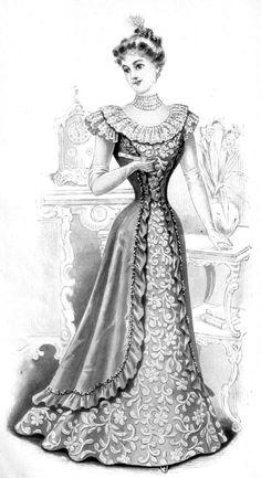 1899 MODE Belle Epoque.. - Le fil des jours