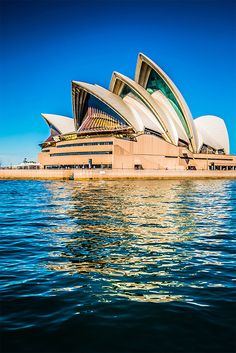 The Sydney Opera House –  is a multi-venue performing arts centre in New South Wales, Australia. It was conceived and largely built by Danish architect Jørn Utzon, opening in 1973 after a long gestation