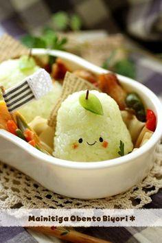 洋ナシ君のお弁当と作り方♪~キャラ弁~の画像 | 毎日がお弁当日和♪