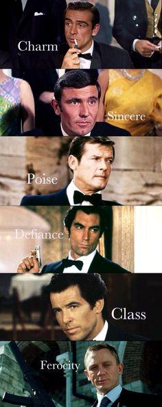 007 Actors of James Bond 007 Actors, James Bond Actors, James Bond Movie Posters, James Bond Movies, James Bond Quotes, James Bond Suit, James Bond Party, James Bond Style, Daniel Craig