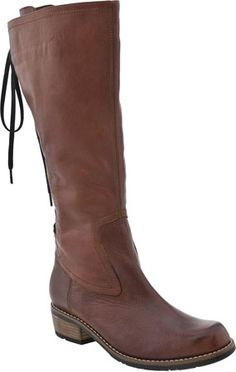 Wolky Pardo Women's Riding Boot (Brown Leather)