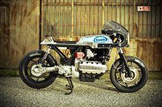 BMW K100 Cafe'd out! I straight up just GIMP...