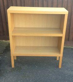Ikea Chunky Oak Bookcase