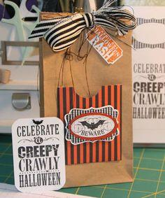Halloween Treat Bag Stampin' Up