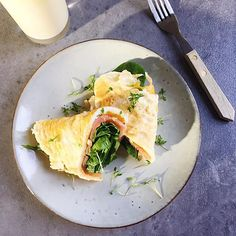 LUNCH eiwrap with salmon and spinach After the holidays hebhellip
