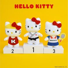 Hello Kitty Toys, Cat Toys, Sanrio, Fictional Characters, Art, Art Background, Kunst, Performing Arts, Fantasy Characters