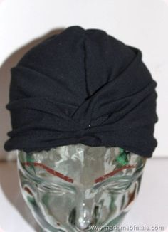 Diy turban finished