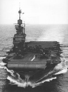 HMS Victorious 1942 or '43 by umbry101, via Flickr