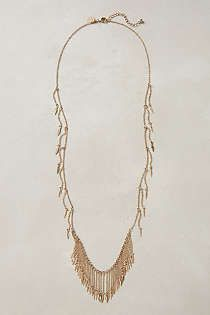 Anthropologie - Deergrass Fringe Necklace