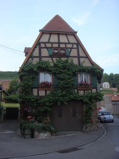 Adorable house I stumbled upon in Obernai, France