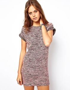 A cozy but adorable little dress from Asos. Although Of course it'd be too short for me unless I wore leggings.