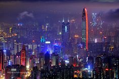 Shenzhen was one of the fastest-growing cities in the world during the 1990s and the 2000s.