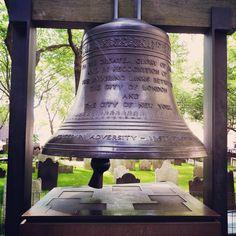 #peacebell #StPaulsChapel #memorial #remember #neverforget #911 #september11 #Manhattan #NewYork #NYC #ajcphotography