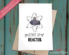 You Start Up My Reactor (Submarine) - Submarine Sweetheart Card - Valentine