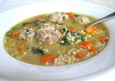 Italian Wedding Soup Recipe | Jenny Steffens Hobick: Recipes | Winter Dinner Ideas | Warm Winter ...